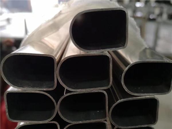 不锈钢D型管