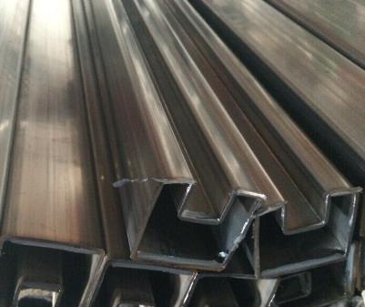 316不锈钢凹槽管